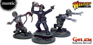 Warlord Games / Mantic Games - Nazi Zombie Conversions