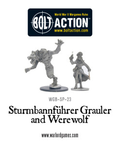 Bolt Action - Sturmbannführer Growler and Werewolf