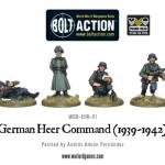 Bolt Action - German Heer Command