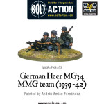 Bolt Action - German Heer MG34 MMG team