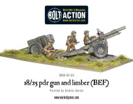 18/25 Pdr Gun and Limber