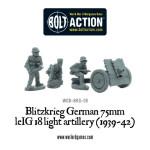 Bolt Action - 7,5-cm-leichtes Infanteriegeschütz 18