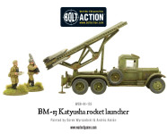 Bolt Action - BM-13 Katyusha rocket launcher