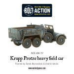 Bolt Action - Krupp Protze Heavy Field Car