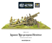 Bolt Action - Japanese Type 91 105mm Howitzer