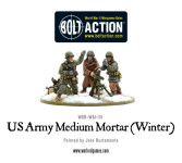 Bolt Action - US Army Medium Mortar (Winter)