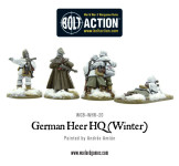 Bolt Action - German Heer HQ Winter