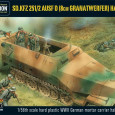 Beginnend mit den ersten Wellen des zweiten Weltkriegs begann die deusche Armee damit ihre  Panzergrenadiere mit Halbketten auszustatten. So wurde die ausgezeichnete SdKfz 251 Serie, hergestellt bei Hanomag, entwickelt und konstant produziert, mit über zwanzig Ausführungen, welche in den meisten Kämpfen zum Einsatz kamen.