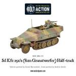 Bolt Action - Sd.Kfz 251/2 Ausf D (8cm Granatwerfer) Half Track