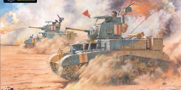 Im November erscheint ein weiterer Kunststoffpanzer für Bolt Action, der M3 Stuart.