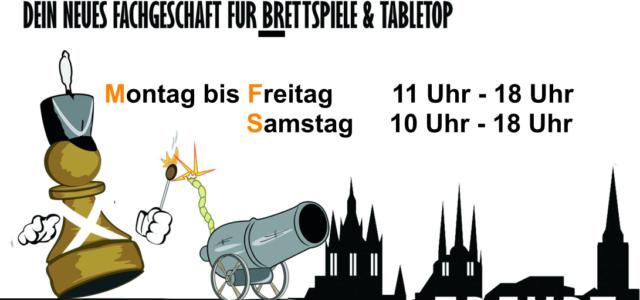 In Thüringen dürfen sich Wargamer über ein neues Ladenlokal freuen. Der kleine Krieger führt auch Warlord Games Produkte.